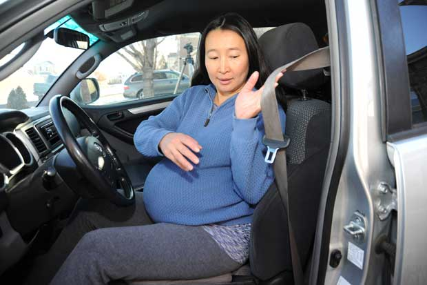 pregnancy and seatbelts