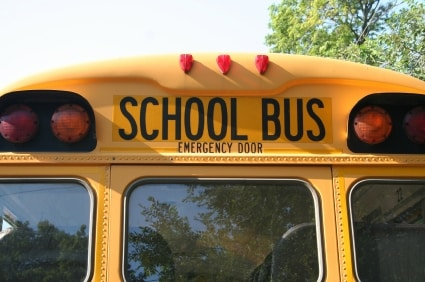 child safety and the school bus