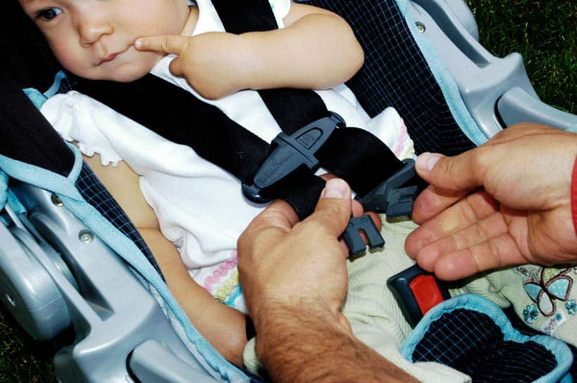 car seat statistics buckle up
