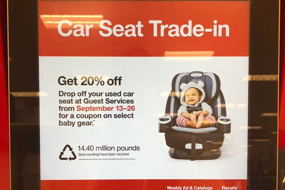 recycle car seats